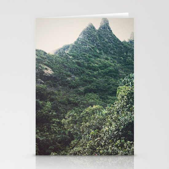 Hawaii Mountain Stationery Card