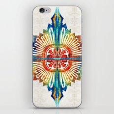 Pattern Art - Color Fusi… iPhone & iPod Skin
