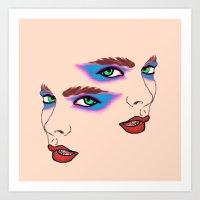 Two Sides Art Print