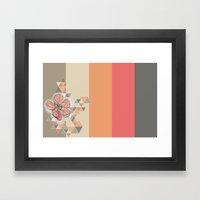 The Flower That Drinking… Framed Art Print