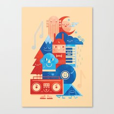 Music Fest' Canvas Print