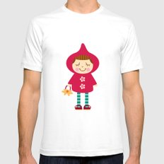 Little red riding hood Mens Fitted Tee White SMALL