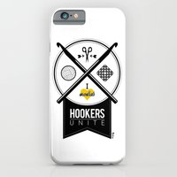 iPhone & iPod Case featuring Hookers Unite by Steph Dillon