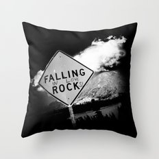 Falling (in love) Rocks Throw Pillow