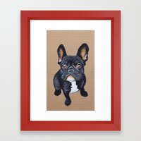 French Bulldog Framed Art Print