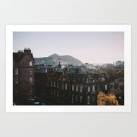 Edinburgh, Scotland Art Print