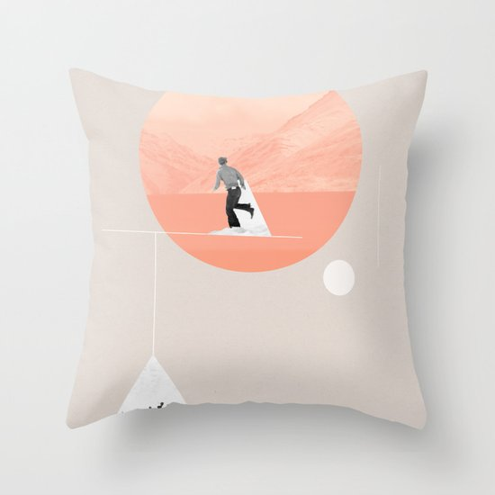FROM EARTH Throw Pillow