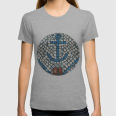 Art Beneath Our Feet - Aveiro  Womens Fitted Tee Athletic Grey SMALL