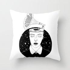 Universal Sound Throw Pillow