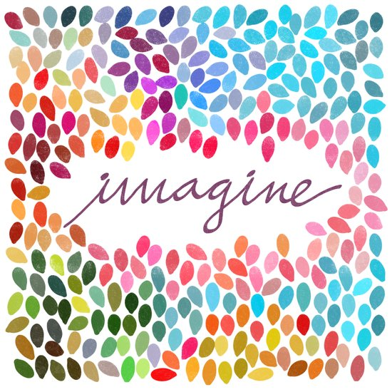 Imagine [Collaboration with Garima Dhawan] Art Print