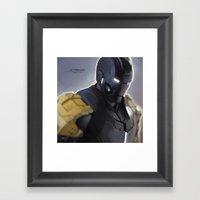 Mark 25 Framed Art Print
