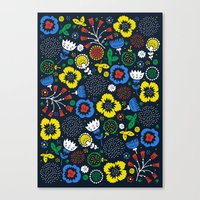 Blooming Wild Canvas Print