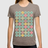 Yellow Mantis Womens Fitted Tee Tri-Coffee SMALL