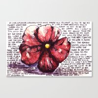 Juno Flower Canvas Print