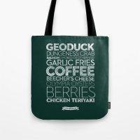 Seattle — Delicious Ci… Tote Bag