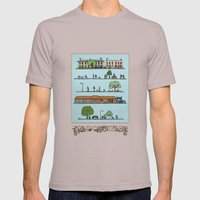 London Fields Mens Fitted Tee Cinder SMALL