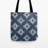 Repeat with Red Berries Tote Bag