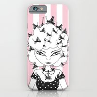 iPhone & iPod Case featuring Lady CriCri by LadyTiz
