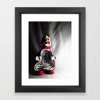 Death Spiral Ashtray Clo… Framed Art Print