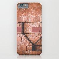 Red Brick, Fire Escape iPhone 6 Slim Case