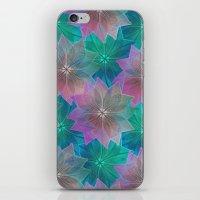 Skeleton Leaf Abstract iPhone & iPod Skin