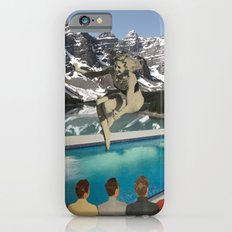 Poolside Olympics iPhone 6 Slim Case