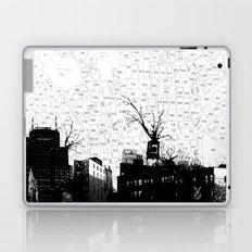 NYC splatterscape Laptop & iPad Skin
