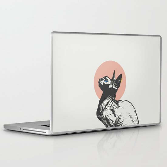 Sphynx Laptop & iPad Skin