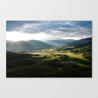 First Light Canvas Print