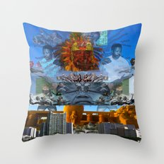 SUNCITY REMIX2 ~ SMS    Throw Pillow
