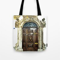 Italian Door Tote Bag
