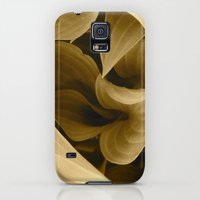 Galaxy S5 Cases featuring Leaves by J.N.B.