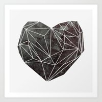 Heart Graphic 4 Art Print