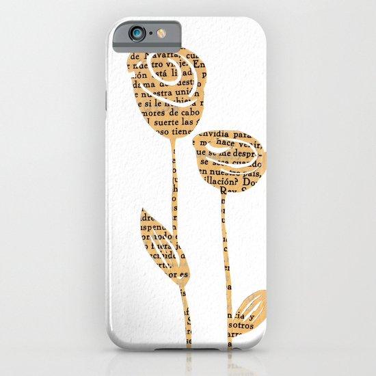 PAPERCUT FLOWER 5 iPhone & iPod Case