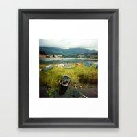 · Camping · Analogical… Framed Art Print