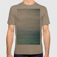 Out to Sea Mens Fitted Tee Tri-Coffee SMALL