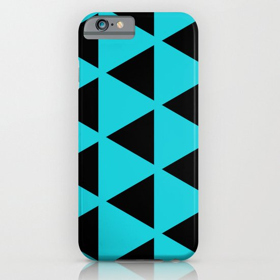 Sleyer Black on Blue Pattern iPhone & iPod Case