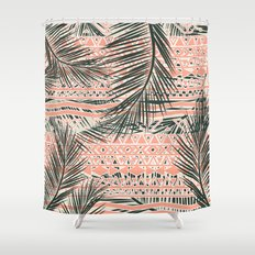 Tropical Aztec Shower Curtain