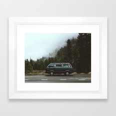 Northwest Van Framed Art Print