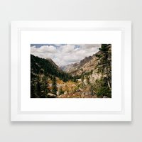 The View From Above 10,0… Framed Art Print