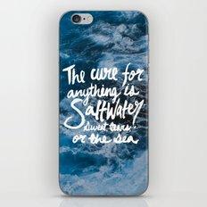 Saltwater iPhone & iPod Skin