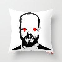 JORTS WHEATON Throw Pillow