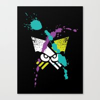 Splatoon - Turf Wars 3 Canvas Print