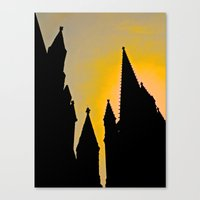 Steeple Sunrise Canvas Print