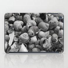 Shell pattern black decoration iPad Case