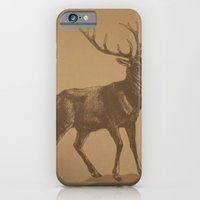 iPhone & iPod Case featuring Stag by liberthine01
