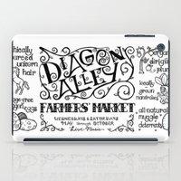 Diagon Alley Farmers' Market iPad Case