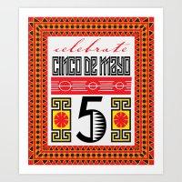 Celebrate Cinco De Mayo … Art Print