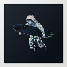 Gravitational Waves Canvas Print
