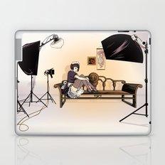 Studio Shoot (Maid Version) Laptop & iPad Skin